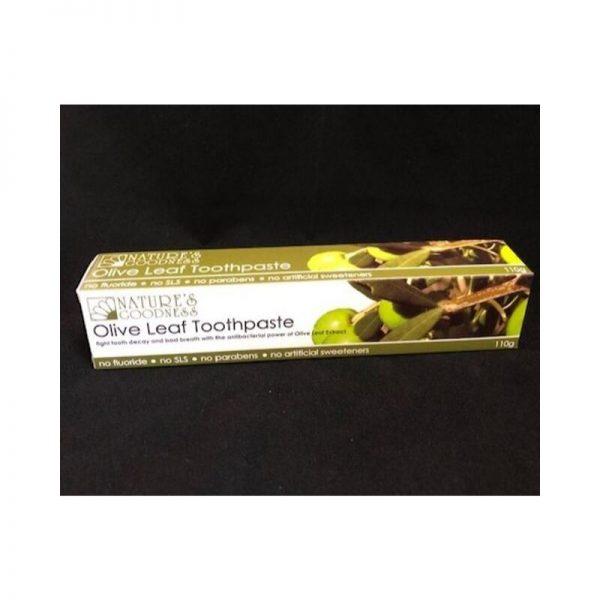 Olive Leaf Toothpaste