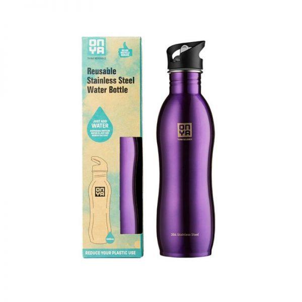 Water Bottle Purple 1000ml