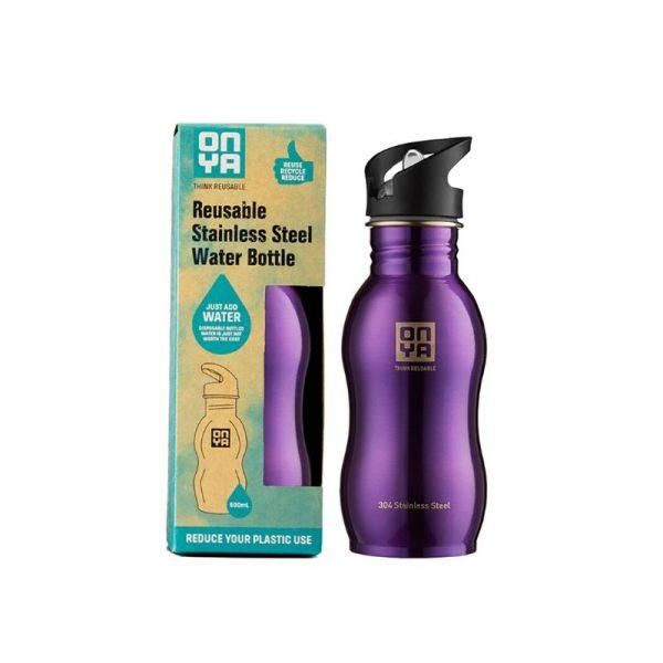 Water Bottle Purple 500ml
