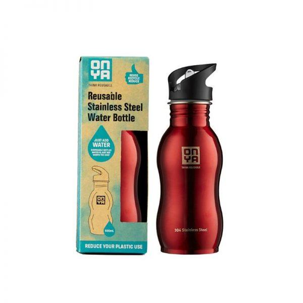 Water Bottle Red 500ml